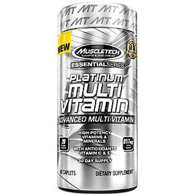 Muscletech Platinum Multi Vitamin 865mg 90 caplets