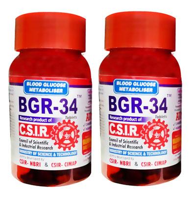 BGR 34 Tablets 100 s Pack Of 2