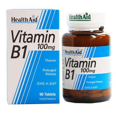 Health Aid Vitamin B1 100mg 90Tabs