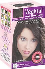 Vegetal Hair color Dark brown 150gm
