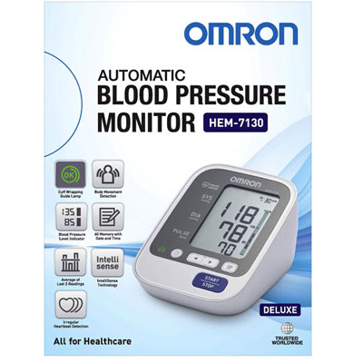 Omron BP Monitor HEM-7130-L