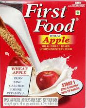 First Food Wheat Apple Stage 1 Refill 300g