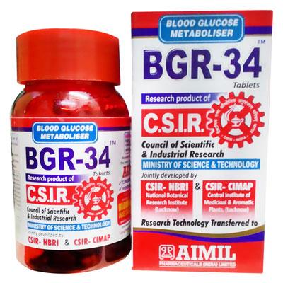 BGR 34 Tablets 100 s
