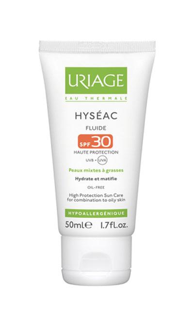Uriage hyseac fluid SPF 30 50ml
