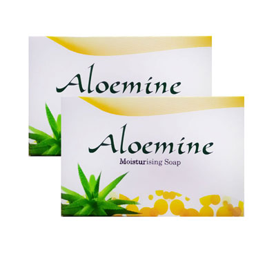 Aloemine Moisturising Soap Pack Of 2