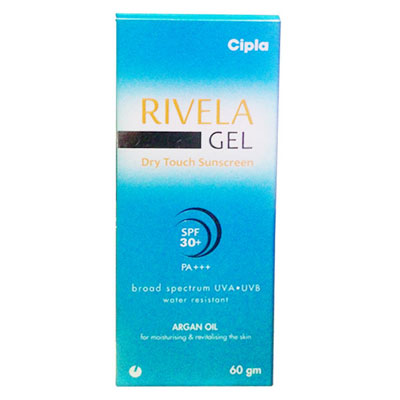 Rivela Gel Dry Touch Sunscreen 60gm