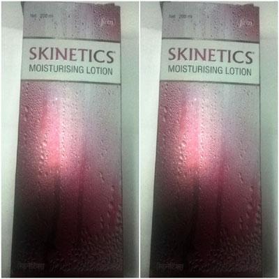 Skinetics Moisturising Lotion 200ml pack of 2