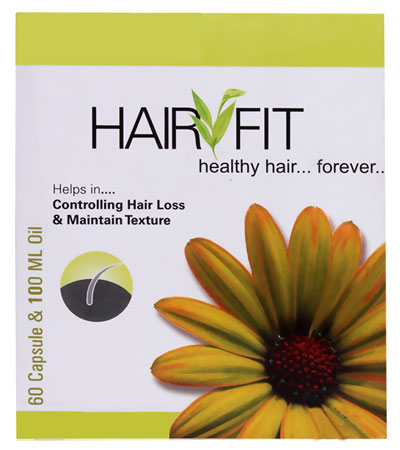 Hair Fit Controlling Hair loss and Maintain Texture 60 Capsule 100 ml Oil