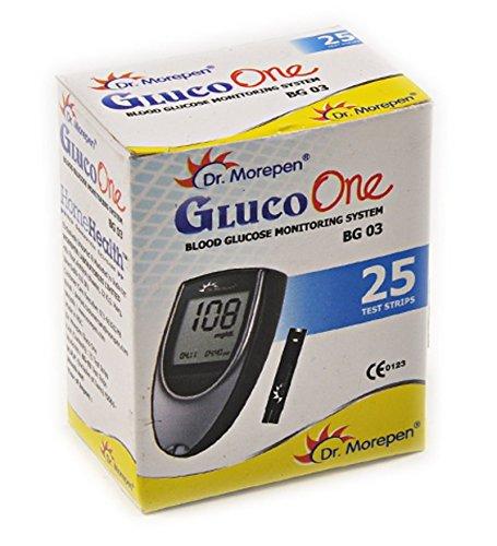 Dr Morepen BG03 Blood Glucose Test Strips Pack of 25