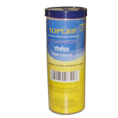 Topgrip Cotton and Rubber Elastic BandaGE B.P
