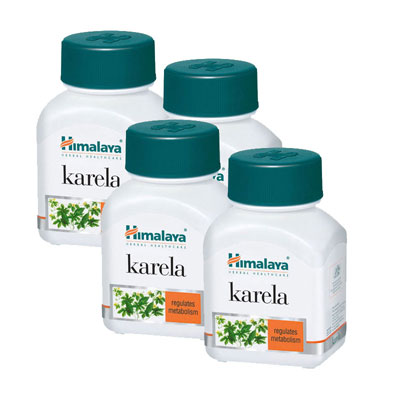 Himalaya Karela Caps 60s Pack of 2