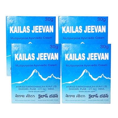 Kailas Jeevan 30 gm pack of 4
