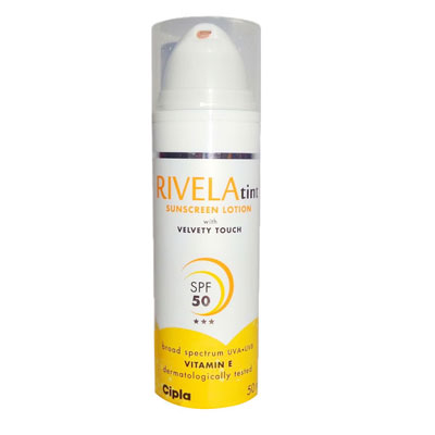 Rivela tint Velvety touch with Vitamin  E 50ml