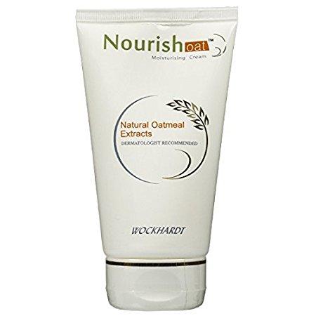 Wockhardt Nourish Oat Moisturising Cream 50 gm  Pack of 2