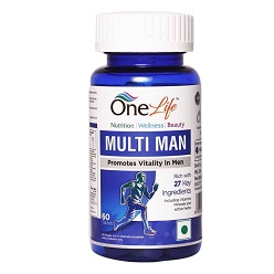 Multi Man Vitamins for Immunity and Stamina in Men 60 tablets