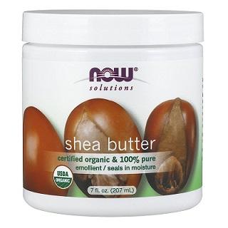 Now Foods 100 Pure Organic Shea Butter 7 Ounce