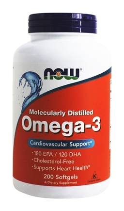 Omega 3 2000 mg  200 Softgels by NOW Foods