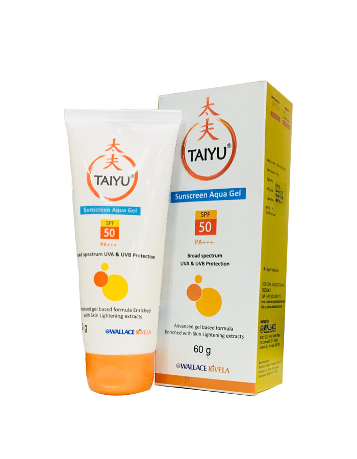 TAIYU Sunscreen Aqua Gel SPF50 60gm