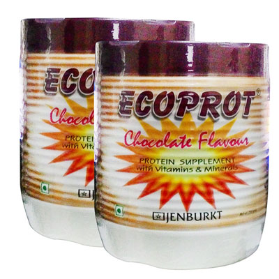 Ecoprot Chocolate Flavor 200 gm Pack Of 2