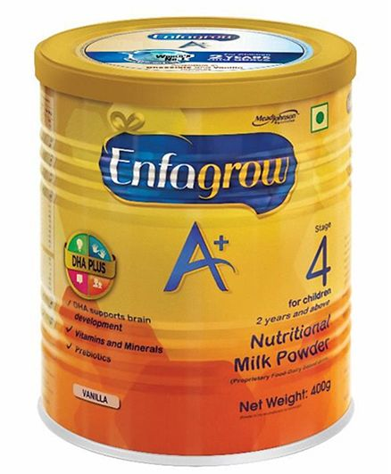 Enfagrow A plus Stage 4 Nutritional Milk Powder Chocolate  400 grams