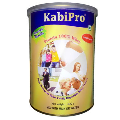 Kabipro Creamy vanilla Sugar Free 400 gm