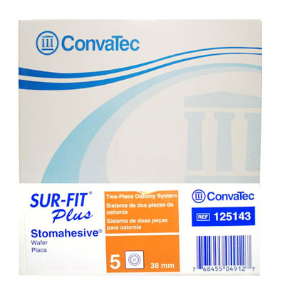 Convatec Stomahesive Pack Of  5 38mm