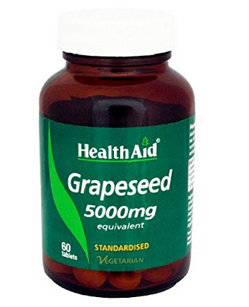 Health Aid GrapeSeed 5000Mg 60Caps