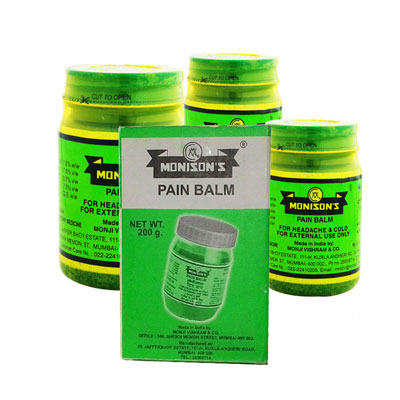 Monisons Pain Balm PACK OF 2
