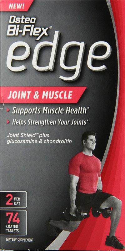 Rexall Sundown Osteo Bi Flex Edge Joint and Muscle  74 Tablets