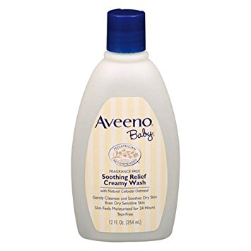 Aveeno Baby Soothing Relief Cream Wash 236ml