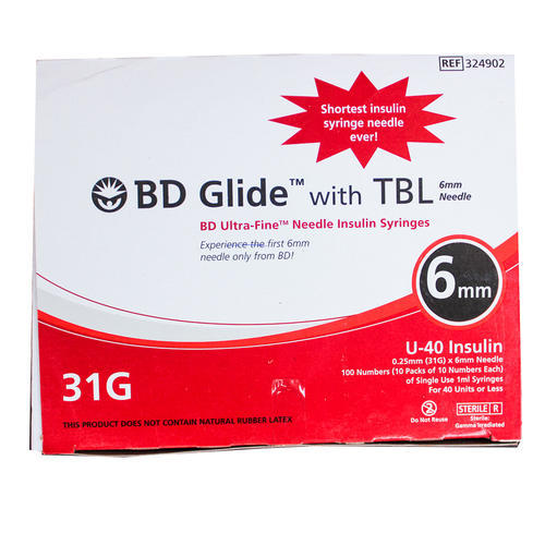 BD Glide with TBL 6mm 100units