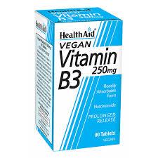 Vitamin B3 250mg 90 Tablets