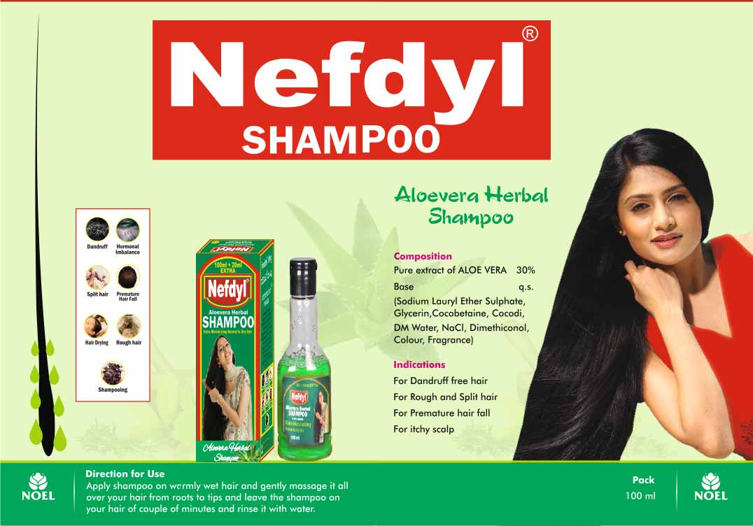 Aloevera Herbal SHAMPOO 100ml  20ml extra pack of 2