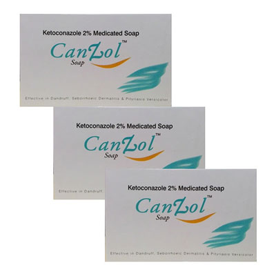 CanZol Soap 75 gm Pack Of 3