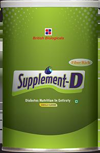 Supplement D Vanilla flavour
